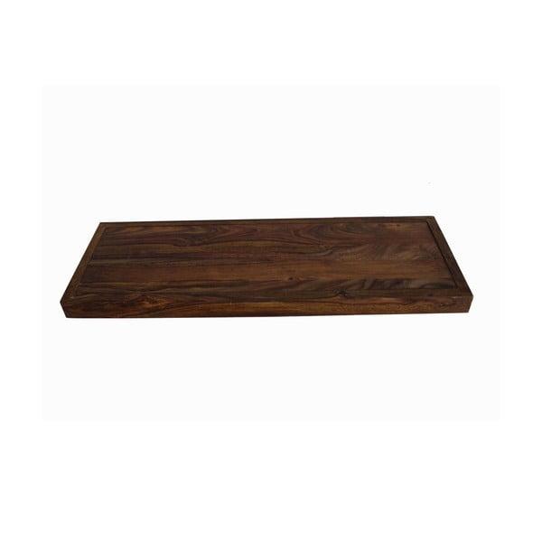 Półka z palisandru Indigodecor, 118 cm