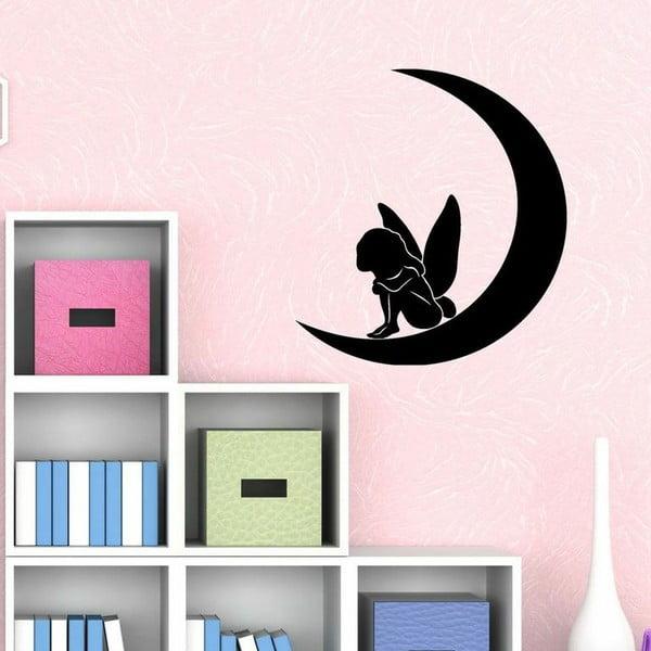Naklejka Fairy and Moon