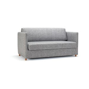 Szara sofa rozkładana Innovation Olan Twist Granite