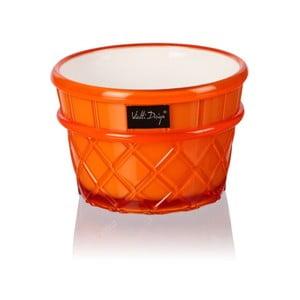 Pucharek deserowy Livio, 266 ml, pomarańczowy