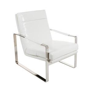 Biały fotel Santiago Pons Kum