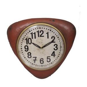 Czerwony zegar ścienny Antic Line Red Vintage