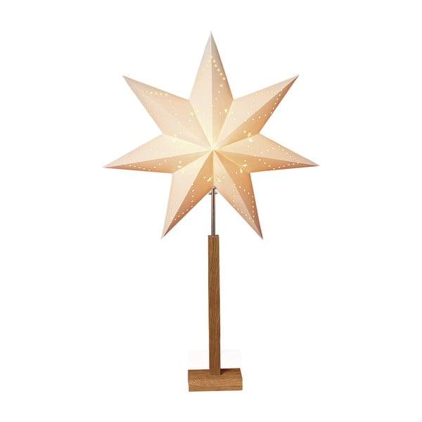 Gwiazda świecąca ze stojakiem Best Season Karo Maxi