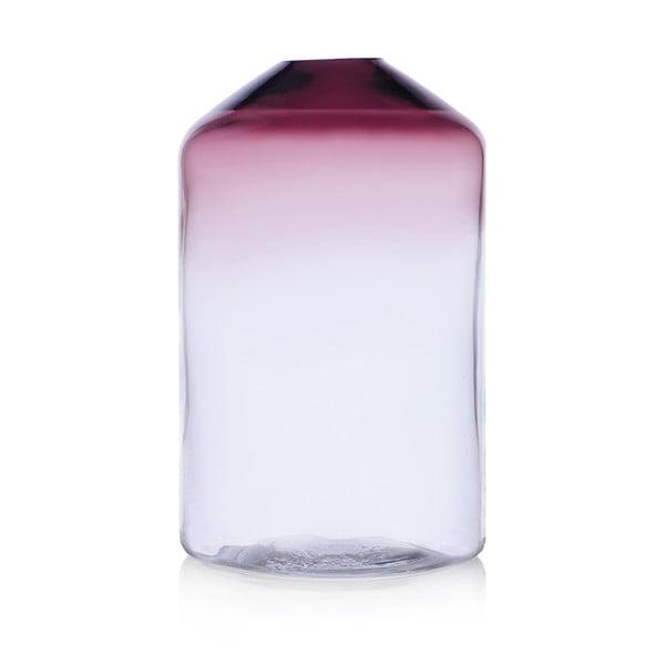 Szklany wazon Islanda Smoke/Clear, 26 cm