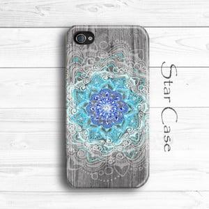 Etui na iPhone 4/4S Wood Mandala
