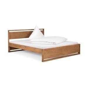 Łóżko z drewna akacjowego SOB, 180x200cm