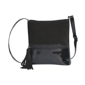 Skórzana torebka Boscollo Black 2086