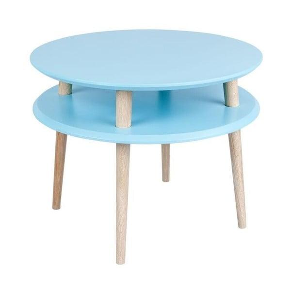 Stolik kawowy UFO 45x57 cm, niebieski