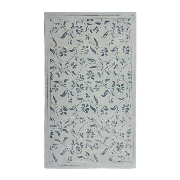 Szary dywan Floorist Florist, 140x200 cm