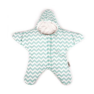 Śpiworek dla dziecka (również na lato) Mint Star, do 3 miesięcy