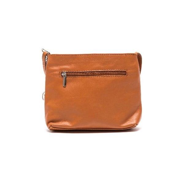 Skórzana torebka Roberta M 241s Cognac
