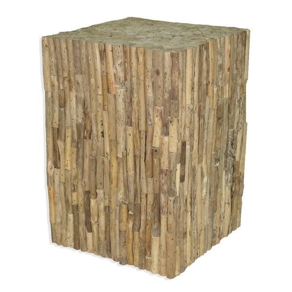 Drewniana podstawa Logs, 42 cm
