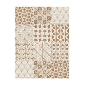 Winylowy dywan Collage Dorados Blanco, 99x120 cm