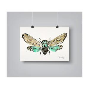Plakat Americanflat Summer Cicada, 30x42 cm