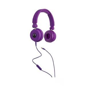 Fioletowe słuchawki TINC Big Boom
