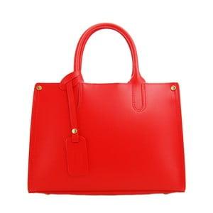 Skórzana torebka Entana Rosso
