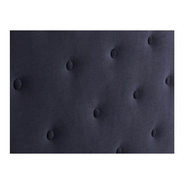 Ciemnoniebieski zagłówek łóżka Windsor & Co Sofas Astro, 160x120 cm