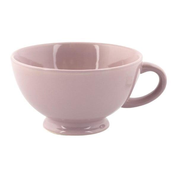 Kubek Jumbo Cappuccino, różowy
