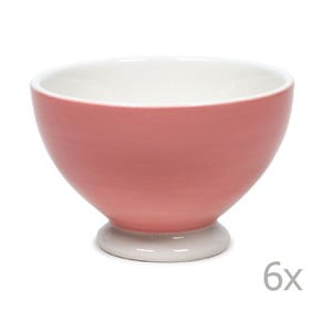 Zestaw 6 misek Puck 14,5 cm, różowy