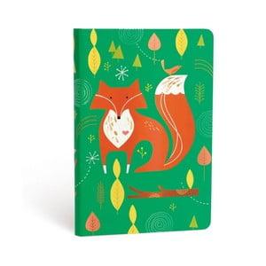 Notes w twardej oprawie Paperblanks Mister Fox, 12x17cm