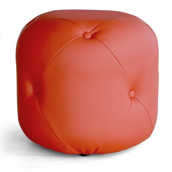 Puf Cubis, czerwony
