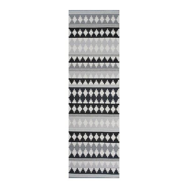 Szary dywan wełniany  Linie Design Nantes, 80x150 cm