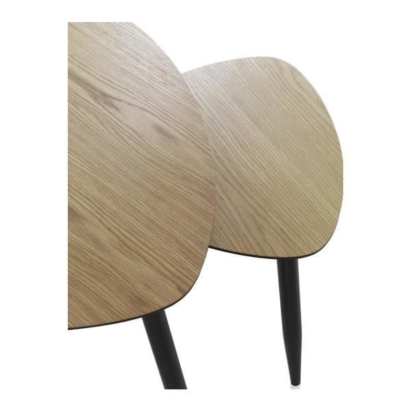 Zestaw 2 stolików Geese Nordic Style Parro, 60x60 cm
