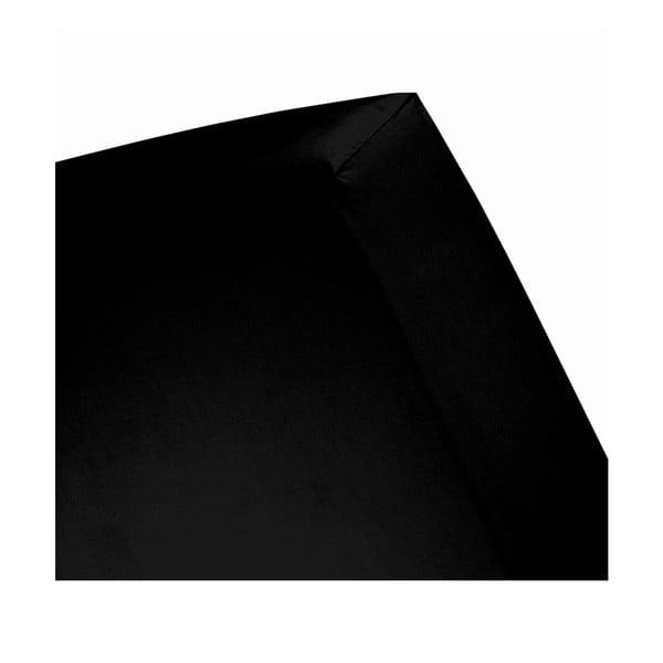 Prześcieradło Cinderella Black, 160x200 cm