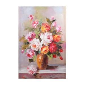 Obraz na płótnie Orange Flowers, 60x90 cm