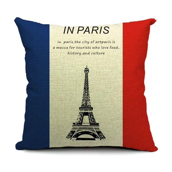 Poszewka na poduszkę Paris, 45x45 cm
