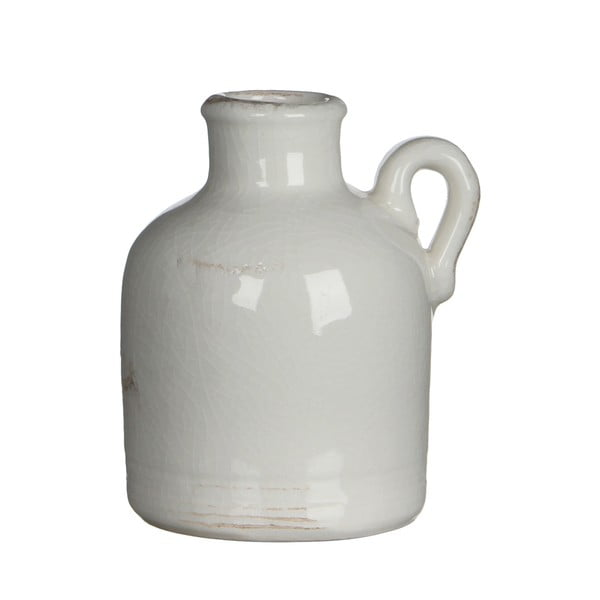 Wazon ceramiczny Sil White, 14x10 cm