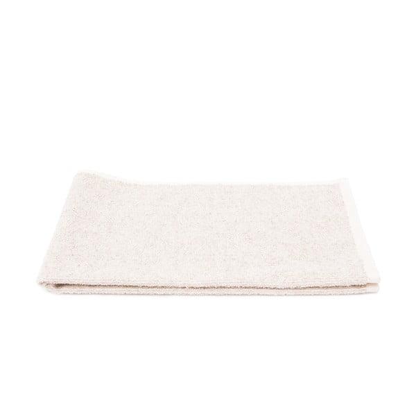 Komplet 2 kremowych ręczników Casa Di Bassi Stripe, 50x90 cm