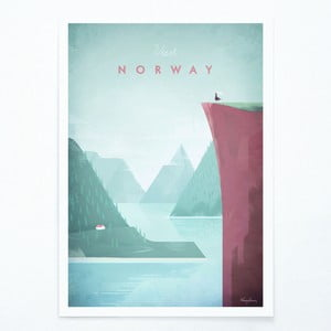 Plakat Travelposter Norway, A2