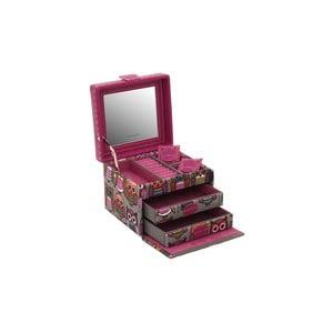 Różowa szkatułka  Owlivia