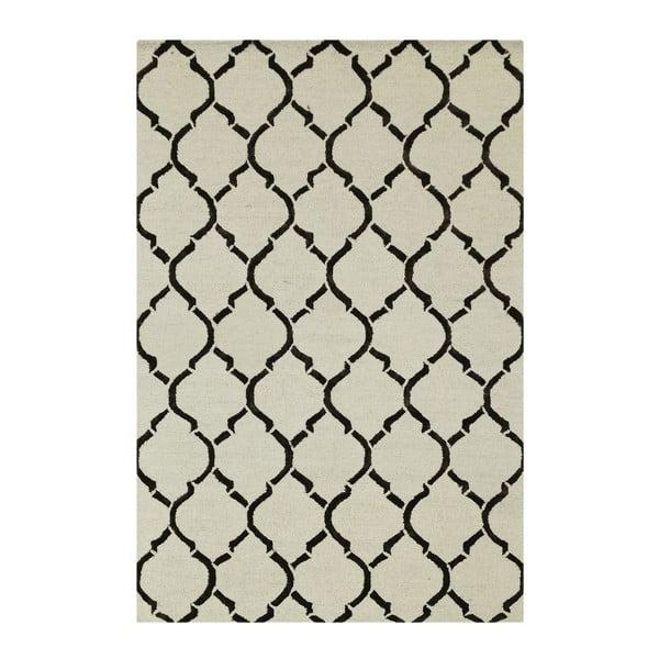 Dywan Chain Ivory/Brown, 153x244 cm