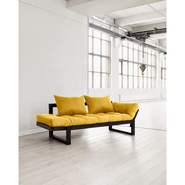 Sofa Karup Edge Black/Amarillo