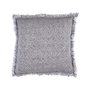 Beżowo-szara poduszka Walra Yara, 50x50cm