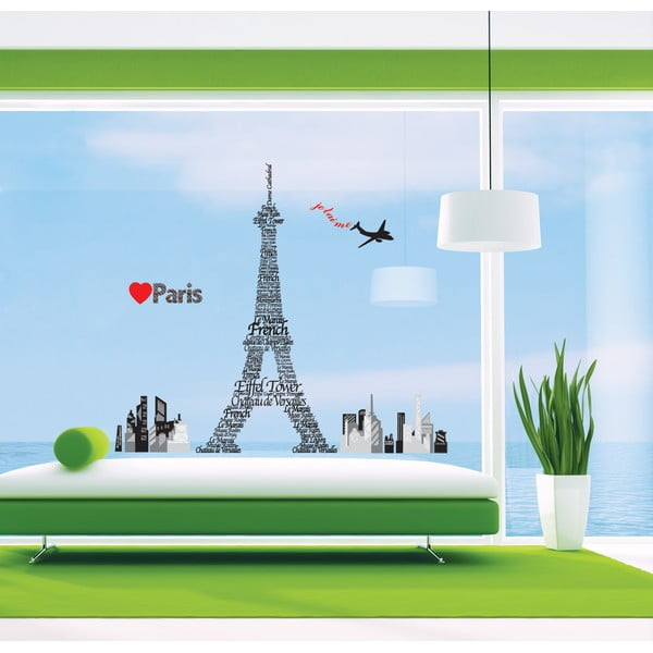 Naklejka Ambiance Giant Eiffel