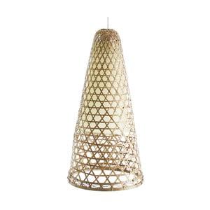 Bambusowa lampa wisząca VICAL HOME Adelia, Ø 30 cm