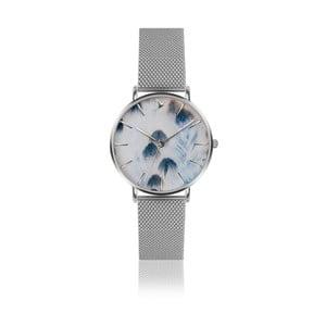 Zegarek damski z bransoletką ze stali nierdzewnej w srebrnym kolorze Emily Westwood Nataly