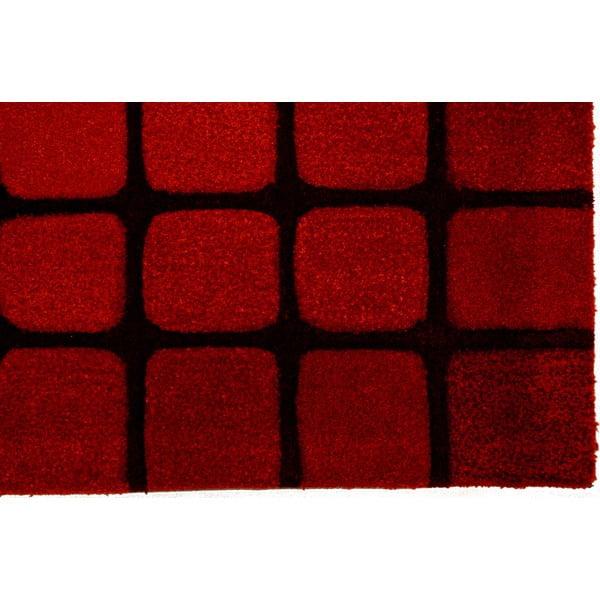 Dywan Casablanca Square 120x180 cm, czerwony