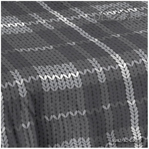 Pościel Descanso Grey, 200x200 cm