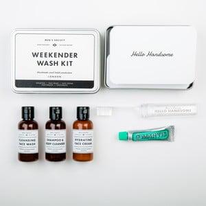Podróżny zestaw kosmetyków Men's Society Weekender