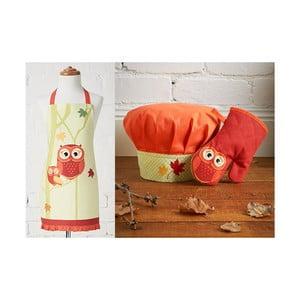 Zestaw dziecięcy: fartuch, czepek, rękawica kuchenna Harvest