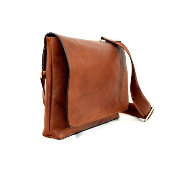 Skórzana torebka Santo Croce 108720 Brown