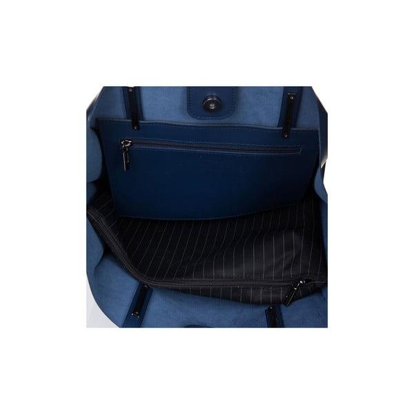 Skórzana torebka Italia 388 Blu