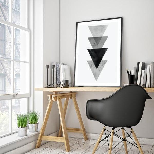 Plakat w drewnianej ramie Cerris, 38x28 cm