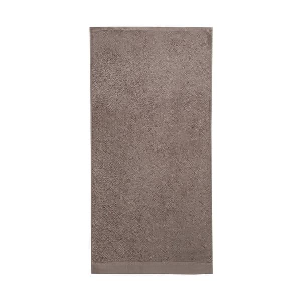 Brązowy ręcznik Seahorse Pure, 70x140cm