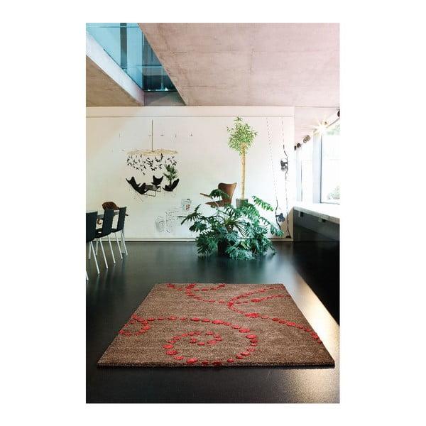 Wełniany dywan Michele, 80x80 cm