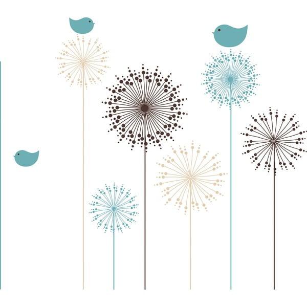 Naklejka dekoracyjna Kwiaty
